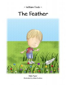 William Finds 'The Feather' book cover