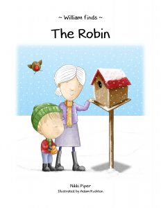 William Finds 'The Robin' book cover