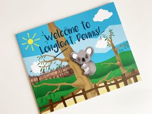 Welcome To Longleat Dennis - Cover