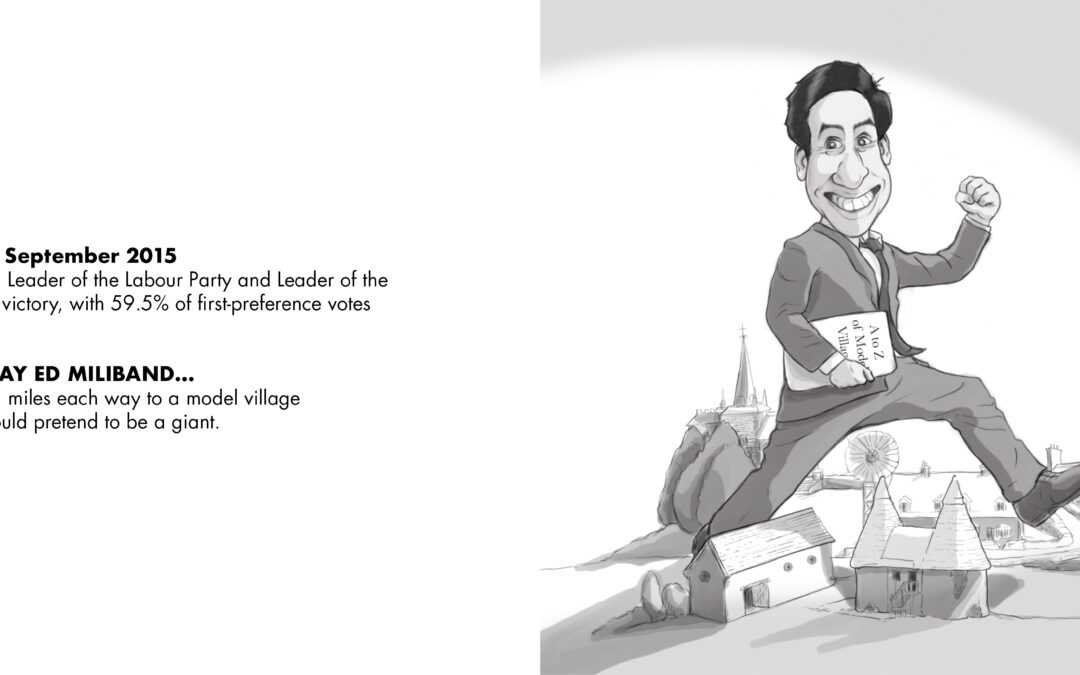 Chas with Ed Miliband Illustration - number 02