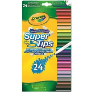 Crayola SuperTips Washable Felt Tip Colouring Pens